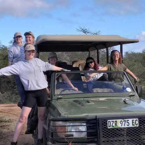 Students' 'Amazing' South Africa Trip