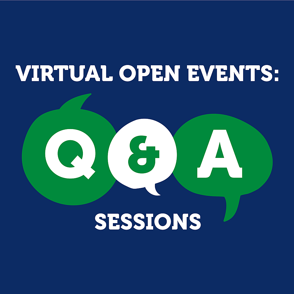 Virtual Open Event: Q&A Sessions