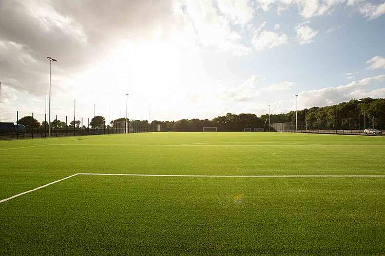 All-weather 3G pitch for hire at Riseholme College in Lincolnshire.