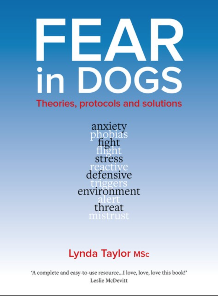 Fear in Dogs front cover
